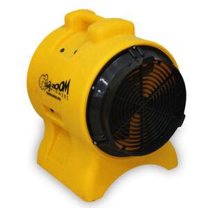 """Zoom 8"""" Air Mover Ventilator Exhaust Fan 1/3 HP Commercial Indoor Outdoor Blower"""