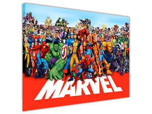 MARVEL-WORLD-CANVAS-WALL-ART-PRINTS-DECORATION-PHOTOS-PICTURES-KIDS-POSTERS