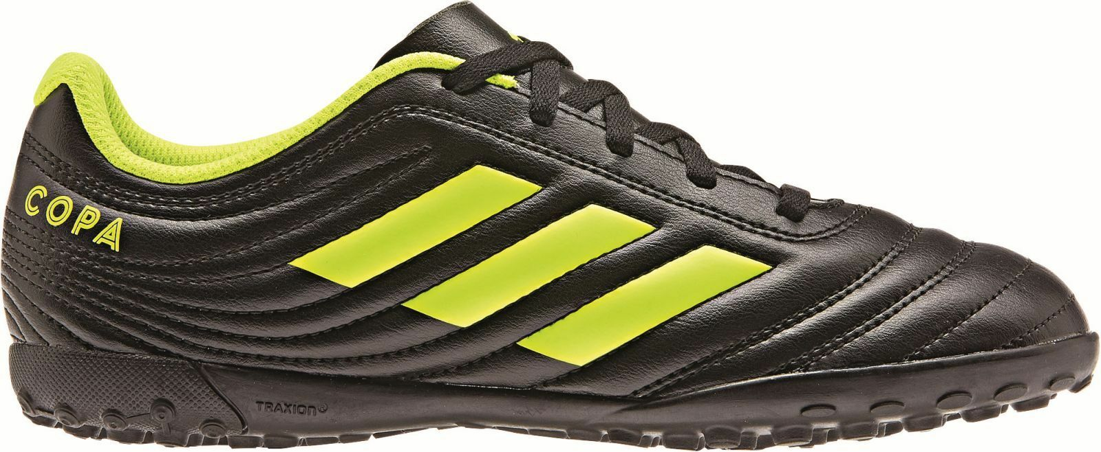 Adidas Performance Bambini Tacchetti 19.4 Tf J black-yellow Scarpa Copa  nynula9914-Shoes   Cleats 2542c0ae19e