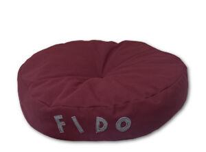 Cuscino-Cuccia-per-Cane-e-Gatto-rotondo-diametro-50cm-con-Nome-Personalizzabile
