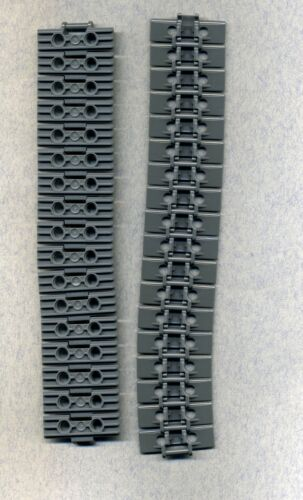Grau/DKStone 2 x 5 -Breit Kettenglieder 35 Stück Lego--57518