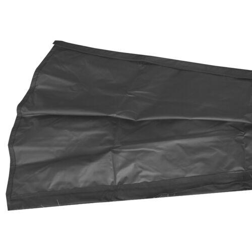 schwarz Schutzhülle für eckige Sonnenschirme 3x3 m Abdeckung Schirmhülle Husse