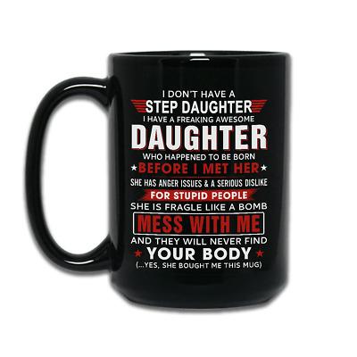 Funny Mug Step Daughter Mug Step Daughter Birthday Mug Bonus Daughter Gift