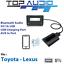 Car-Bluetooth-AUX-Input-music-stream-Audio-USB-Kits-Interface-Adaptor-for-Toyota thumbnail 1