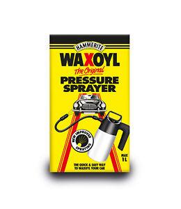 Hammerite-6141711-Waxoyl-High-Pressure-Spray-Sprayer-Car-Valeting-1-Litre