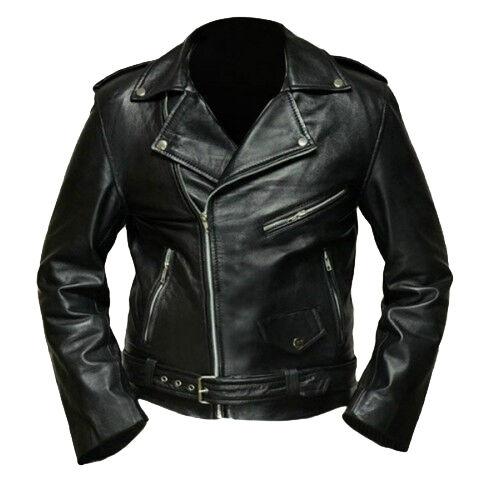 Terminator Arnold Schwarzenegger Leather Jacket