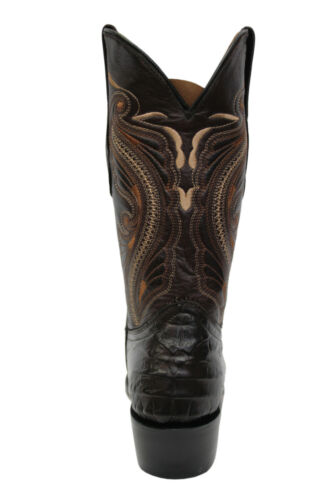 vera Cowboy Mid Brown Western Boots Toe Womens Grinders pelle Stitch in Indiana New afzX0SOw