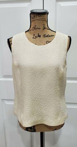 TALBOTS NWT Pure Silk 100% Silk Crinkle Fabric Sle
