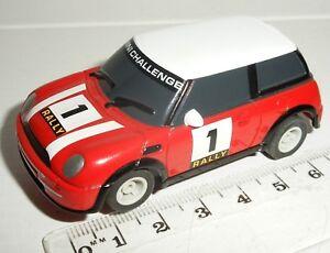 """Logique Micro Scalextric-bmw Mini Cooper """"rallye"""" #1 - Nr. Comme Neuf-afficher Le Titre D'origine Vente De Fin D'AnnéE"""
