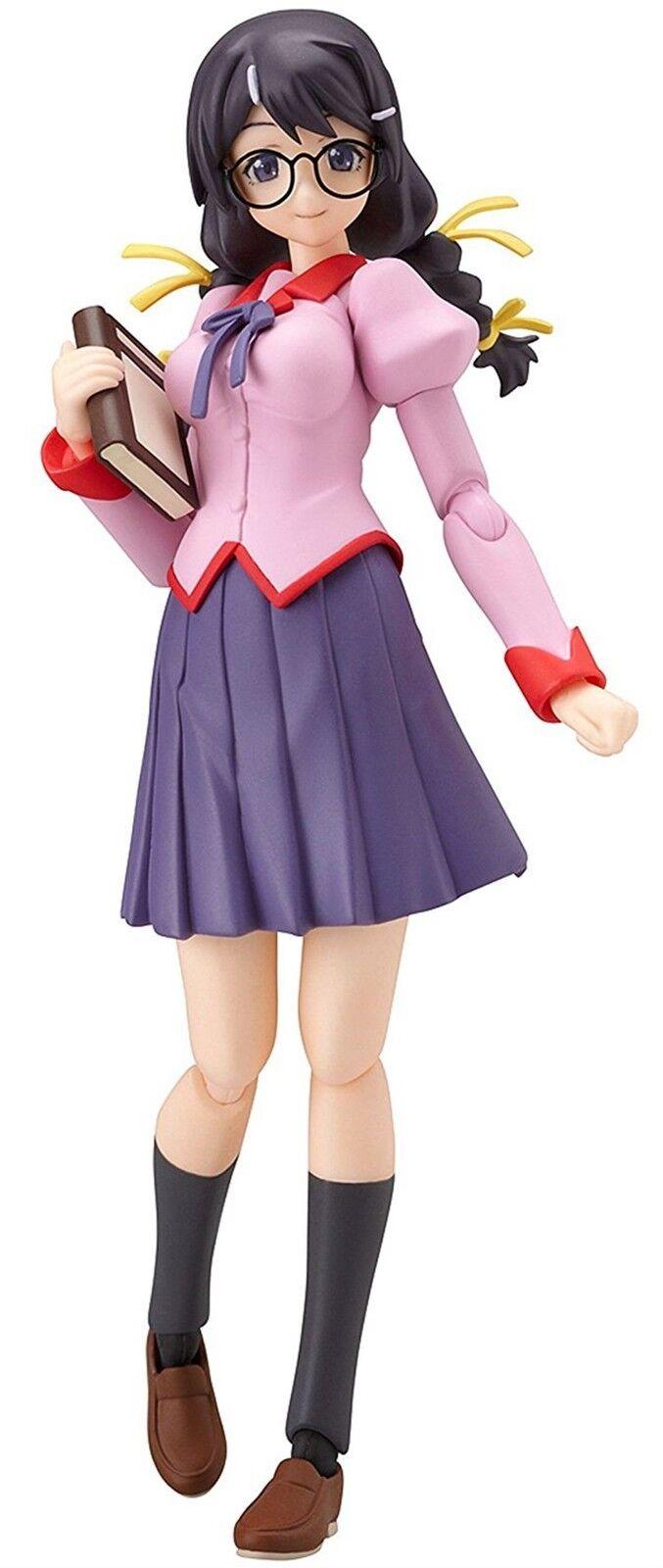 Figma 147 Bakemonogatari Tsubasa Hanekawa Figura Max Factory Japón Nuevo F S Nu