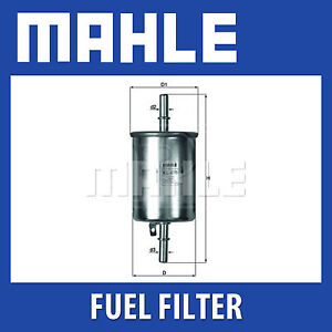 Mahle-Fuel-Filter-KL470-Fits-Chevrolet-Kalos-Genuine-Part