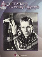 Chet Atkins Vintage Fingerstyle Sheet Music Guitar Tablature 000694878