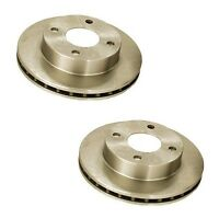 Ford Exp Mercury Ln7 Set Of 2 Front Disc Brake Rotors Opparts 405 18 006