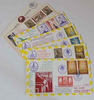 ( A 1) Viaggio Di  S.S. Paolo VI - a Fatima (Portogallo) 13 Maggio 1967