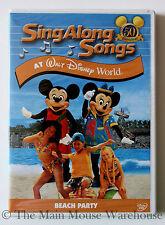 Sing Along Songs Disney World Music Karaoke DVD Blizzard Beach Shark Reef Etc.