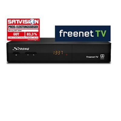 STRONG SRT 8540 Receiver, Neu+ HDMI Kabel, 3 Monate HD Frei