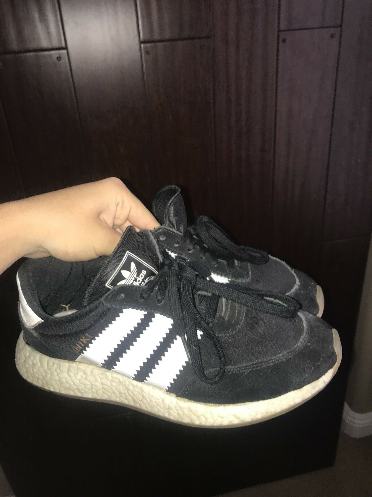 Adidas Iniki Boost Size 8 Pre-Owned
