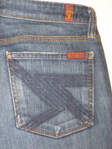 Distressed 27 W Bootcut Mankind Sz 7 For Dark Flynt Stretch Jeans Womens All 8O7w4U