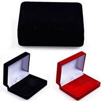 Velvet Ring Earring Jewelry Display Storage Box Gift Case Holder Organizer Box