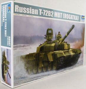 15dc39808817 Trumpeter 1 35 09507 Russian T-72B2 MBT Military Model Kit ...