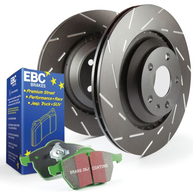 EBC Front USR Slotted Brake Discs and Greenstuff Pads Kit - PD06KF314