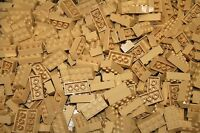 200 Tan 2x4 Building Blocks, Compatible To Lego 2x4 Bricks 3001 Bulk Lot Deal