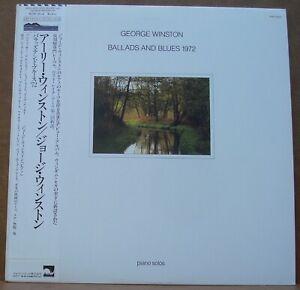 George-Winston-Ballads-and-Blues-1972-Piano-Solos-Japan-pressing-w-OBI-NM