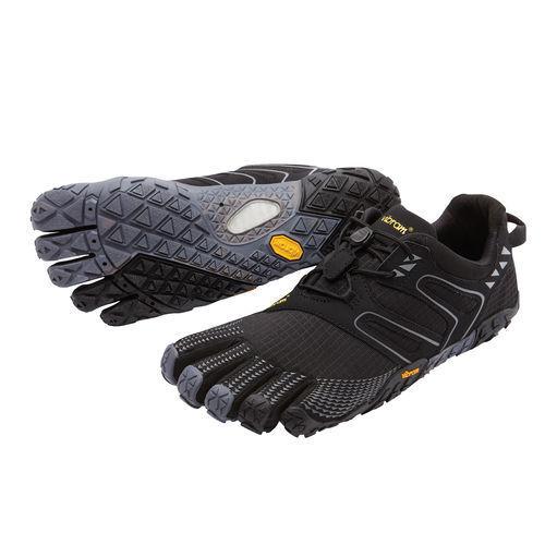 VIBRAM CINQ DOIGTS v-trail homme VIBRAM chaussure 17m6901 noir / GRIS NEUF