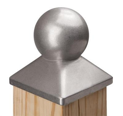 Measures 5-1//2 in. x 5-1//2 in. /… 6x6 Heavy Duty Solid Aluminum Post Cap