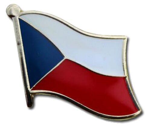 Czech Republic Flag Lapel Hat Pin FAST USA SHIPPING