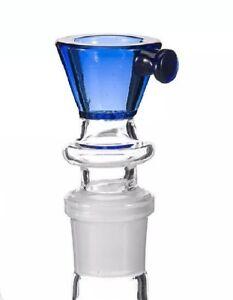 Thick-Glass-Bowl-w-Honeycomb-Screen-10mm-14mm-18mm