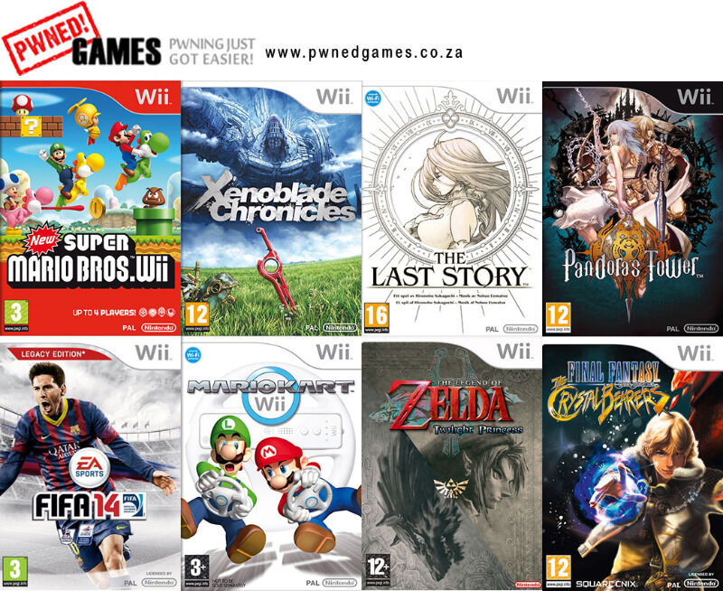 Wii Games [E-G] º°o Buy o°º Sell º°o Trade o°º
