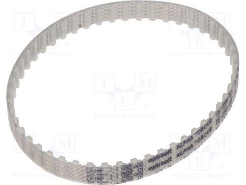 1.2 mm 8 mm H Courroie T5 W 250 mm dent Hauteur 2.2 mm LW 1 Pcs