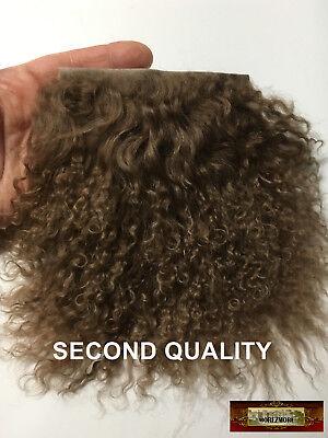 M00736 MOREZMORE Hair Tibetan Lamb Remnants WHITE OOAK Doll Baby Wig