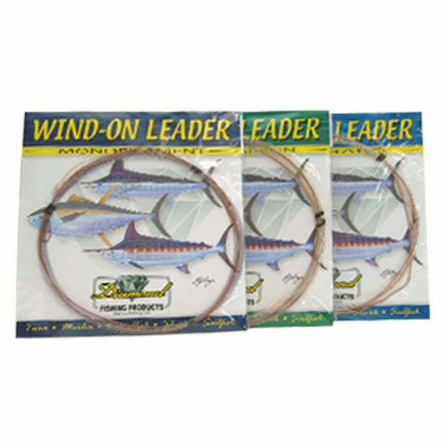 -25 Ft--Pick Line Class Momoi Fluorocarbon Wind-on Leader Free Shipping