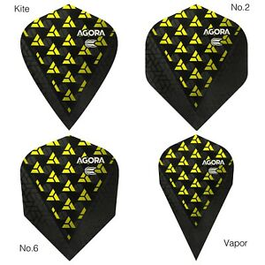 4972d2f3ae247 Image is loading Target-Yellow-Agora-Ultra-Ghost-Dart-Flights-No-