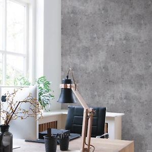 Vliestapete Beton Schiefer Optik Industrial Struktur anthrazit grau A24703