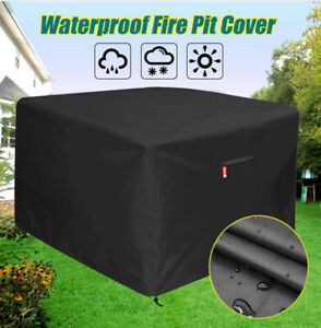 Fire-Pit-Cover-UV-Protective-Canopy-BBQ-Shelter-Garden-Patio-Furniture-Cover-32-034