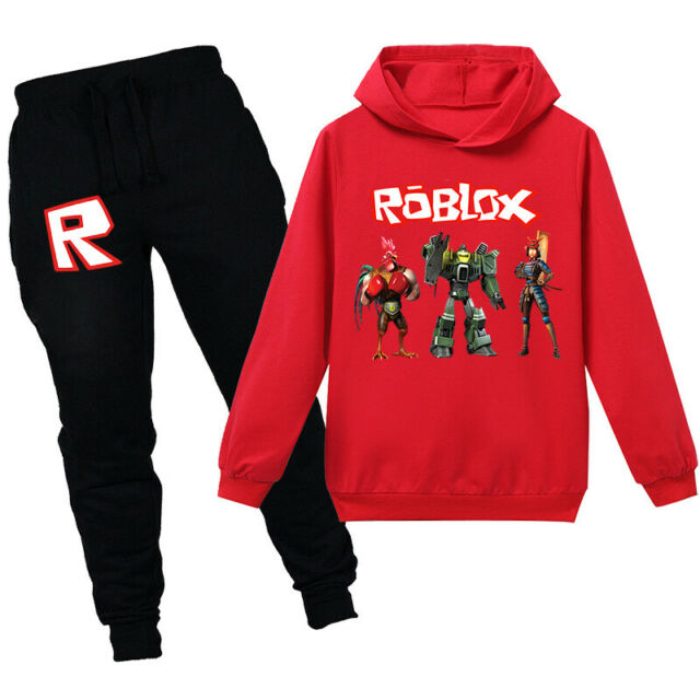 2020 ROBLOX Boys Girls Cartoon Fashion Cotton Long Sleeve Zip Coat Kid XMAS Gift