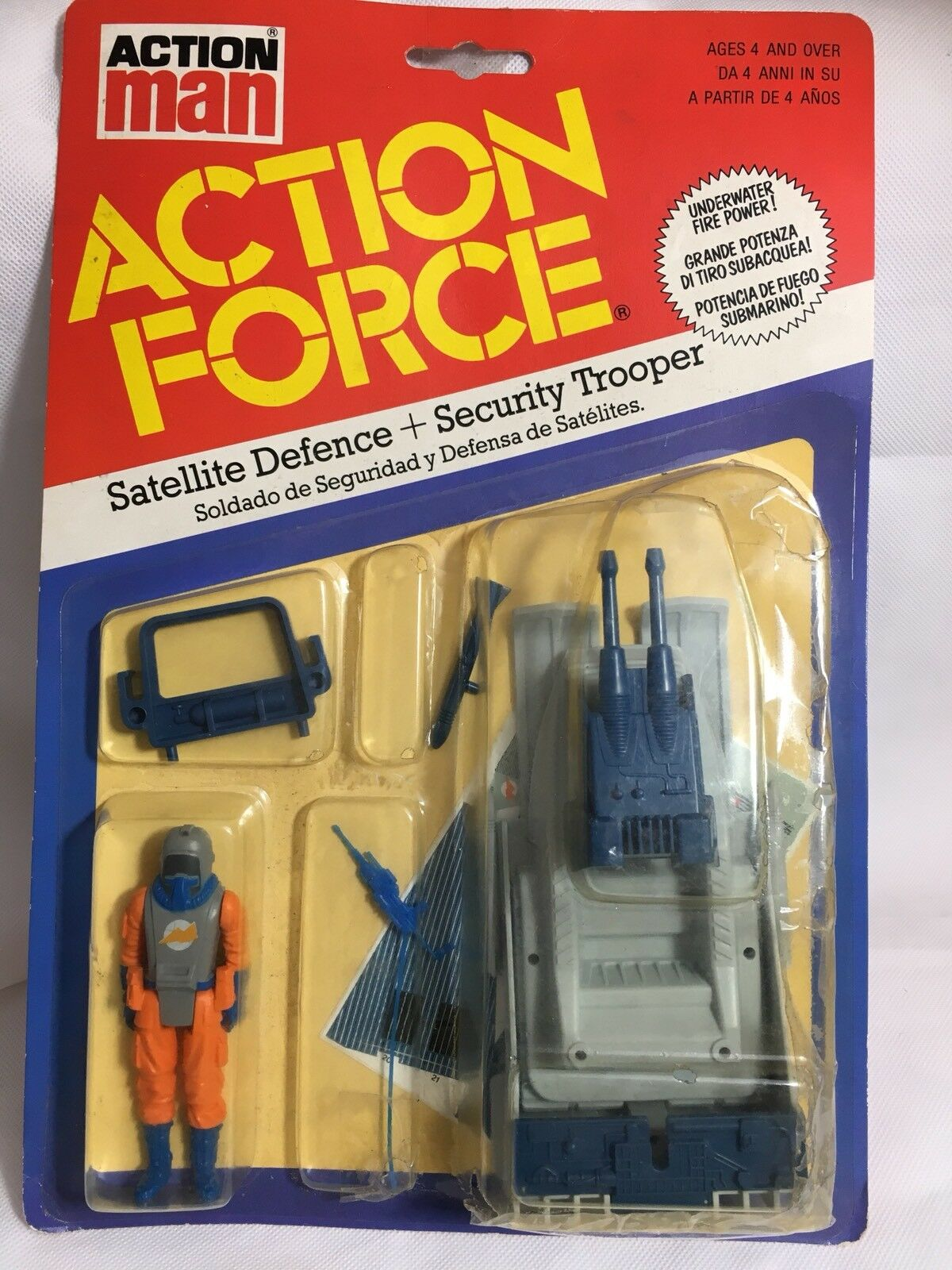 Action Force Satellite Defence MOC MOSC Carded Palitoy