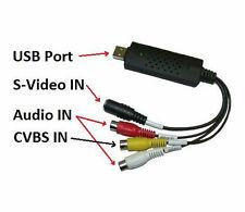 Scheda acquisizione audio video USB PC.Registra.Videoregistrazioni.Convertitore!
