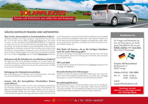 05-14 AUTO PARASOLE ALETTA PARASOLE VW Passat-Variant b6//b7 LUNOTTO BJ