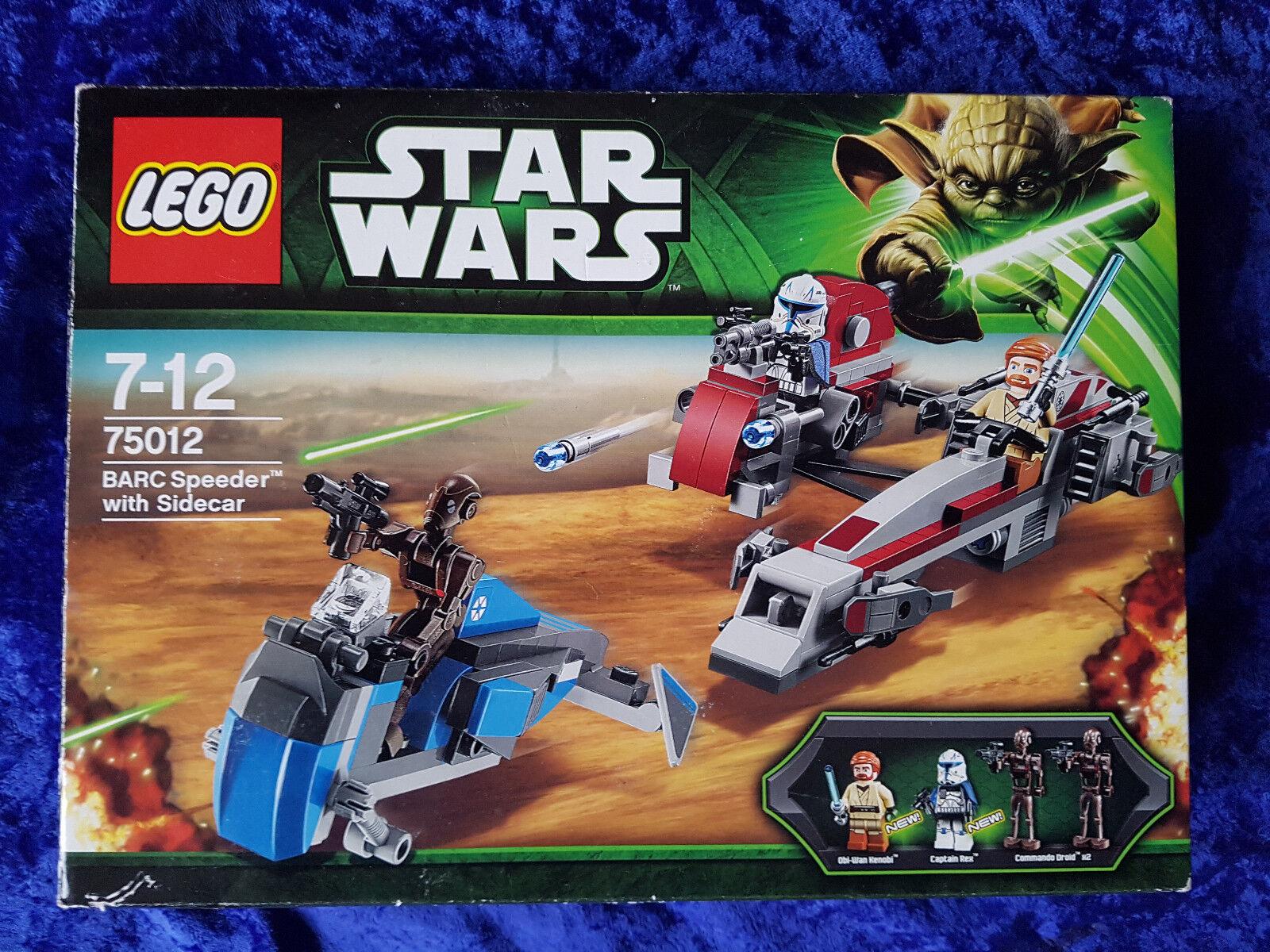 LEGO StarWars BARC Speeder with Sidecar (75012) Rarität