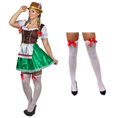 Femme Vert /& Marron bavarois costume choisir Accessoires Oktoberfest Déguisement