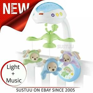 Fisher-Price-Butterfly-3-in-1-Projector-Mobile-Baby-039-s-Musical-Stroller-Table-Toy