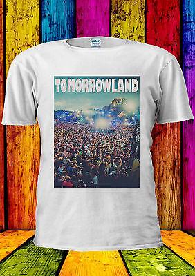 Tomorrowland Tomorrow Land Party T-shirt Vest Tank Top Men Women Unisex 1068