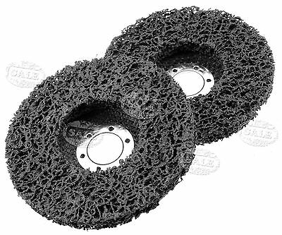 Paint & Rust Remover Grinder Wheel Disc For 115mm X 22.2mm Angle Grinder x 2