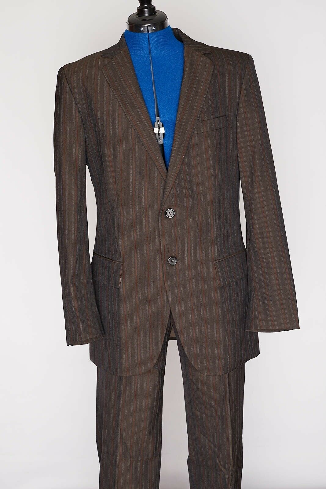 HUGO BOSS Suit rot Label Aamon  Hago 2 Piece braun Two Button Mens 38R 32 X 34