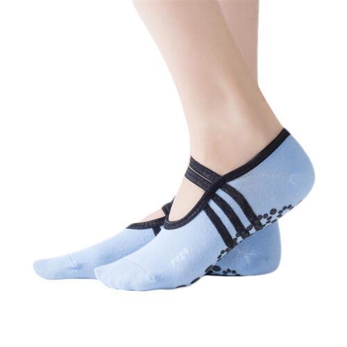 1 pair Women Ballet Grip Yoga Sock Massage Ankle Pilates Antislip Gym 2018*·