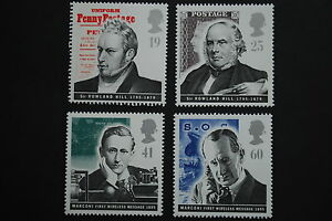 GB-1995-Pioneers-of-Communications-SG-1887-1890-MNH-Complete-Set